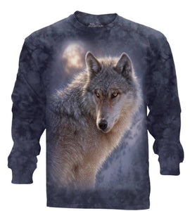 Adventure Wolf - The Mountain - Long Sleeve 3D Animal T-Shirt
