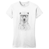 Geek Bear - Women's Fitted T-Shirt - Animal Tee