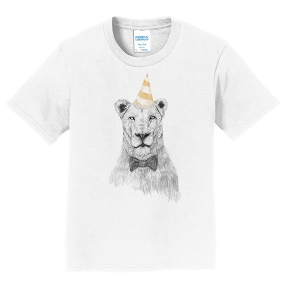 Lion - Get The Party Started - Kids' Unisex T-Shirt