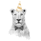 Lion - Get The Party Started - Adult Unisex T-Shirt