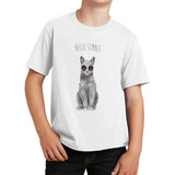 Hello Summer Cat - Kids' Unisex T-Shirt