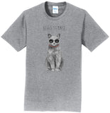 Hello Summer Cat - Adult Unisex T-Shirt