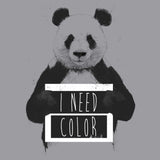 Panda - I Need Color - Kids' Unisex T-Shirt