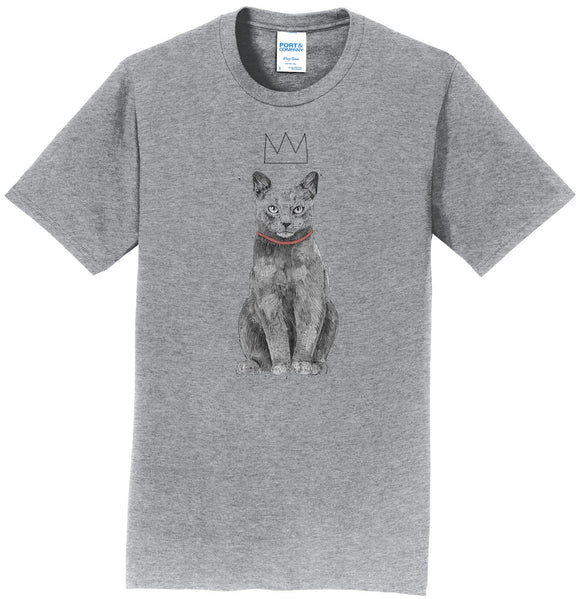 King Of Everything Cat - Adult Unisex T-Shirt