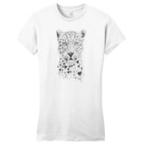 Lovely Leopard - Women's Fitted T-Shirt - Animal Tee