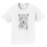 Lovely Leopard - Kids' Unisex T-Shirt