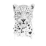Lovely Leopard - Women's Fitted T-Shirt