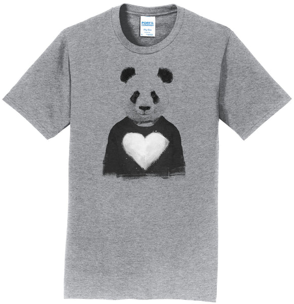 Lovely Panda - Adult Unisex T-Shirt