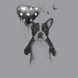 Boston Terrier - My Heart Goes Boom - Adult Unisex T-Shirt