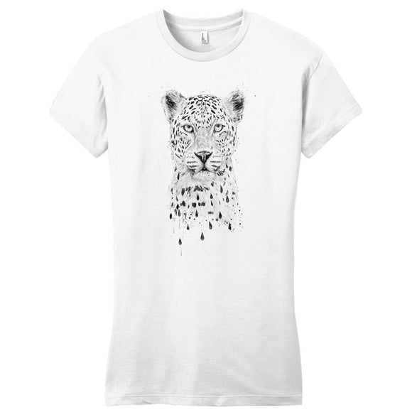 Raining Again - Women's Fitted T-Shirt - Animal Tee
