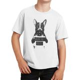 Rebel Dog - Kids' Unisex T-Shirt