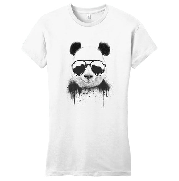 Panda - Stay Cool - Women's Fitted T-Shirt - Animal Tee