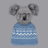 Ugly Christmas Sweater Koala - Adult Unisex T-Shirt