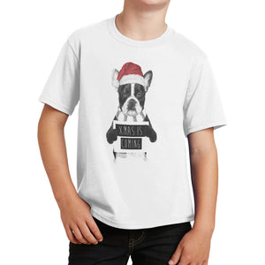 Xmas Is Coming - Kids' Unisex T-Shirt
