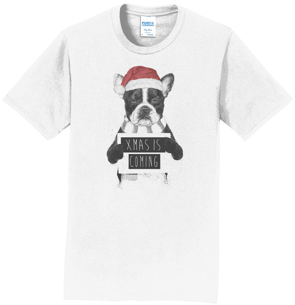 Xmas Is Coming - Adult Unisex T-Shirt