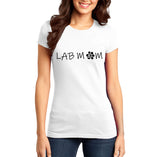 Lab Mom - Women's Fitted T-Shirt