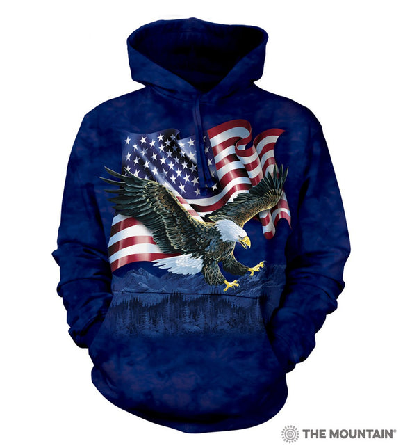 Eagle Talon Flag - Adult Unisex Hoodie Sweatshirt