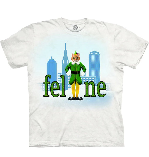 Elf Cat - Adult Unisex T-Shirt