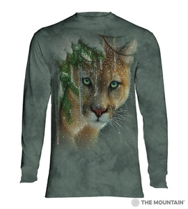 Frozen - The Mountain - Long Sleeve 3D Animal T-Shirt