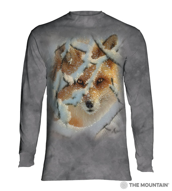 Hide And Seek - The Mountain - Long Sleeve 3D Animal T-Shirt