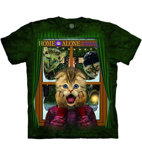 Home Alone Kitten - The Mountain - 3D Animal T-Shirt