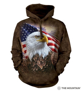 Independence Eagle - The Mountain - 3D Hoodie Animal Sweatshirt