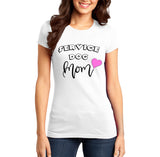 Service Dog Mom - Women's Fitted T-Shirt