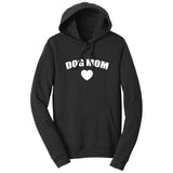 Dog Mom Heart - Adult Unisex Hoodie Sweatshirt