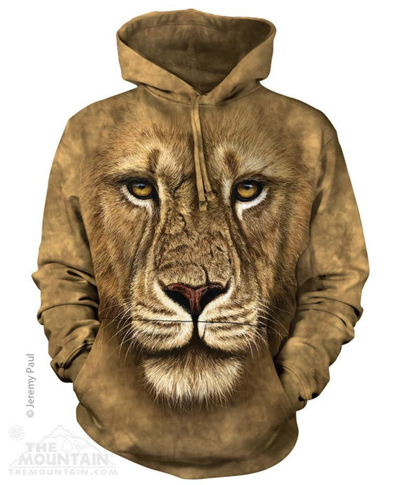 Lion Warrior - The Mountain - 3D Hoodie Animal Sweatshirt