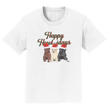 Happy Howlidays - Kids' Unisex T-Shirt