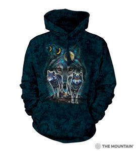 Northstar Wolves - The Mountain - 3D Hoodie Animal Sweatshirt