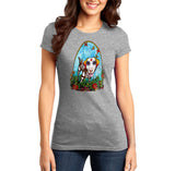 Skeleton Lab Under Arch - Women's Fitted T-Shirt