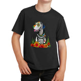 Labrador Big Eyes - Skeleton Style - Kids' Unisex T-Shirt