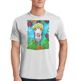 Hypnotized Labrador - Adult Unisex T-Shirt