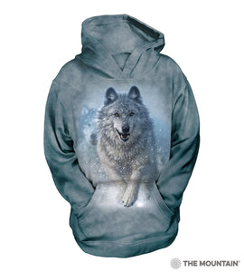 Snow Plow - The Mountain - Kids 3D Hoodie Animal Sweatshirt