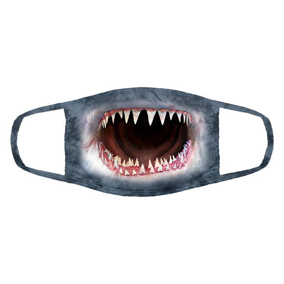 The Mountain - Wicked Nasty Shark - Adult Unisex Face Mask