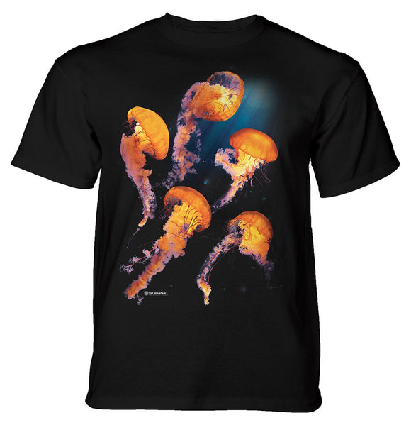 The Mountain - Pacific Nettle Jellyfish - Adult Unisex T-Shirt