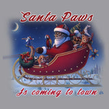 Santa Paws is Coming - Adult Unisex Long Sleeve T-Shirt