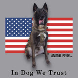 Conan - In Dog We Trust - Adult Unisex T-Shirt