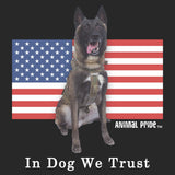 Conan - In Dog We Trust - Adult Unisex Long Sleeve T-Shirt