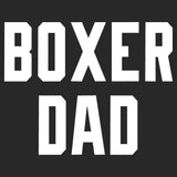 Boxer Dad Block Font - Adult Unisex T-Shirt