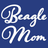 Beagle Mom - Script - Women's Fitted T-Shirt
