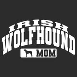 Irish Wolfhound Mom - Sport Arch - Adult Unisex Hoodie Sweatshirt