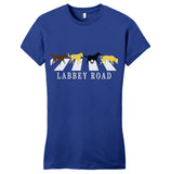 Labbey Road - Women's Fitted T-Shirt