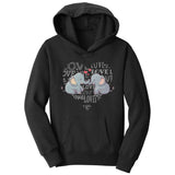 Love Heart Elephants - Kids' Unisex Hoodie Sweatshirt