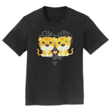 Love Heart Tigers - Kids' Unisex T-Shirt
