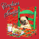 Cookies for Santa - Adult Unisex T-Shirt