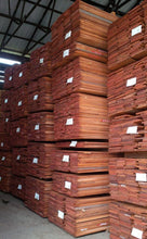 "Load image into Gallery viewer, 100 BF Pack 16/4 5""&Wdr Sapele Mahogany Lumber 9-10' long - AMC Hardwoods"