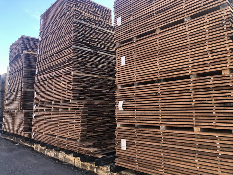 "100 BF Pack 16/4 6""&Wdr Prime Walnut Lumber 9-10' long - AMC Hardwoods"