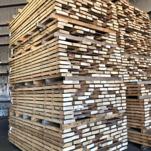 100 BF Pack 8/4 RW White Oak Lumber 6-7' Long - AMC Hardwoods